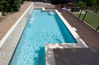 In-ground lap pool - Beacon Hill