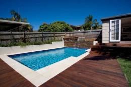 Family plunge pool - Drummoyne