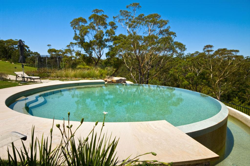 circular swimming pool dural crystal pools