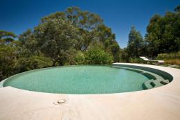 Circular swimming pool