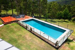 Above ground lap pool - Erina