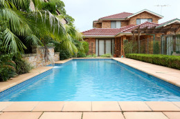 Solar heated pool - Gymea Bay