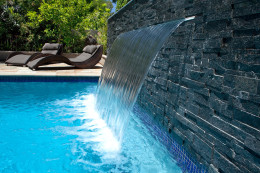 Spa Jets & water feature - Riverview
