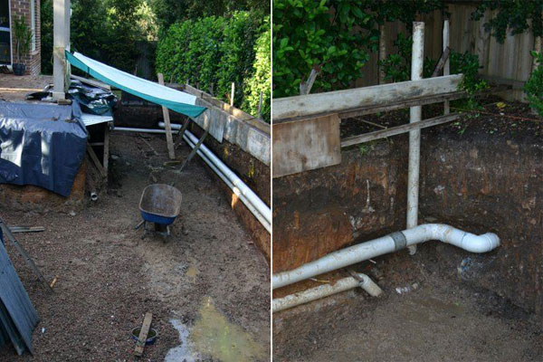 Stage 2 - Plumbing and storm water