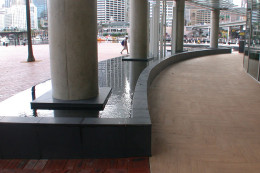 Water feature - Darling Harbour