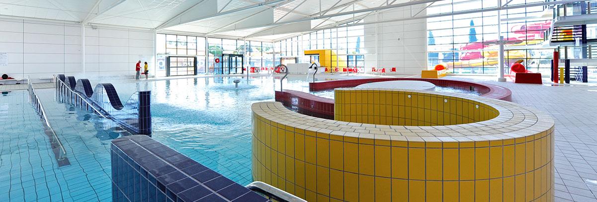 Aquatic centres and public swimming pools