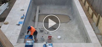 Swimming pool construction | Timelapse