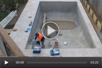 Pool construction | Timelapse video
