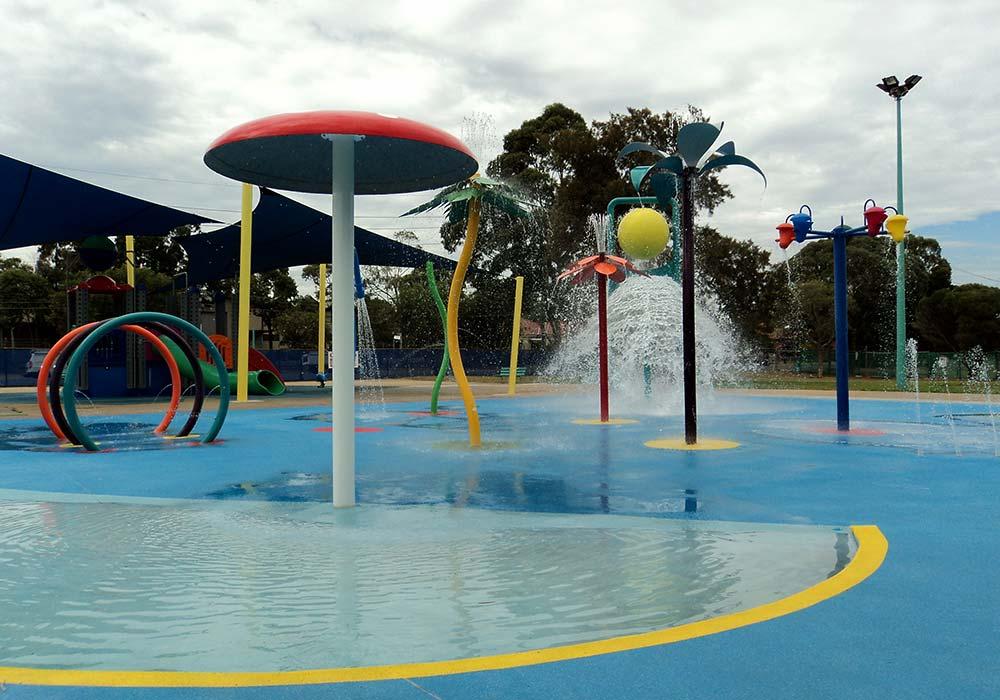 Birrong Water Play Park