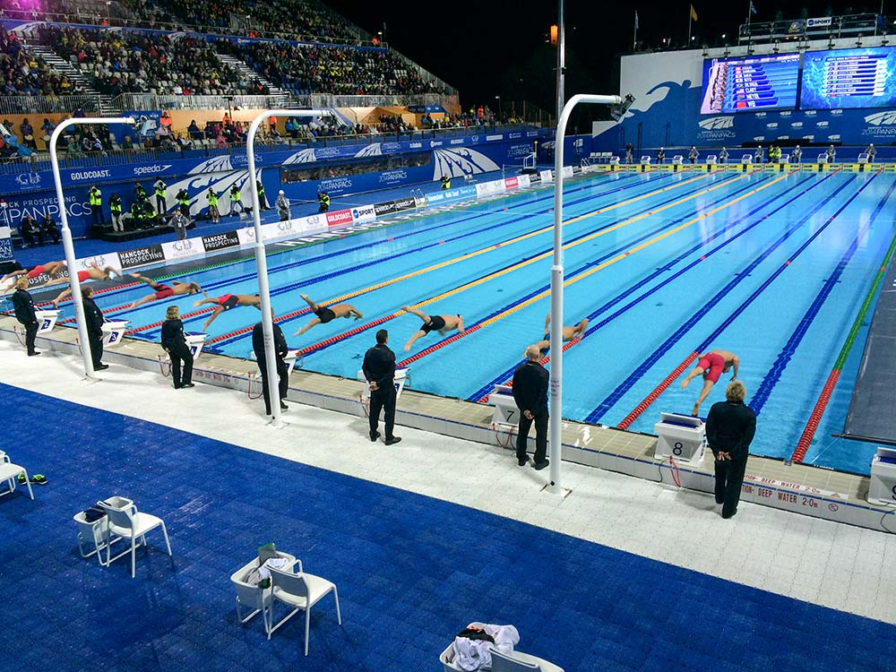 2018 Commonwealth games aquatic centre