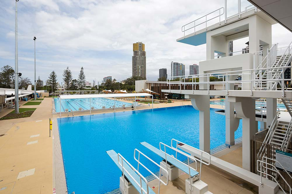 2018 Commonwealth Games swimming pools