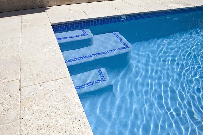 Swimming Pool Steps Ledges Crystal Pools