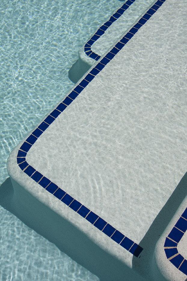 Brand-new Swimming pool steps & ledges - Crystal Pools PB45