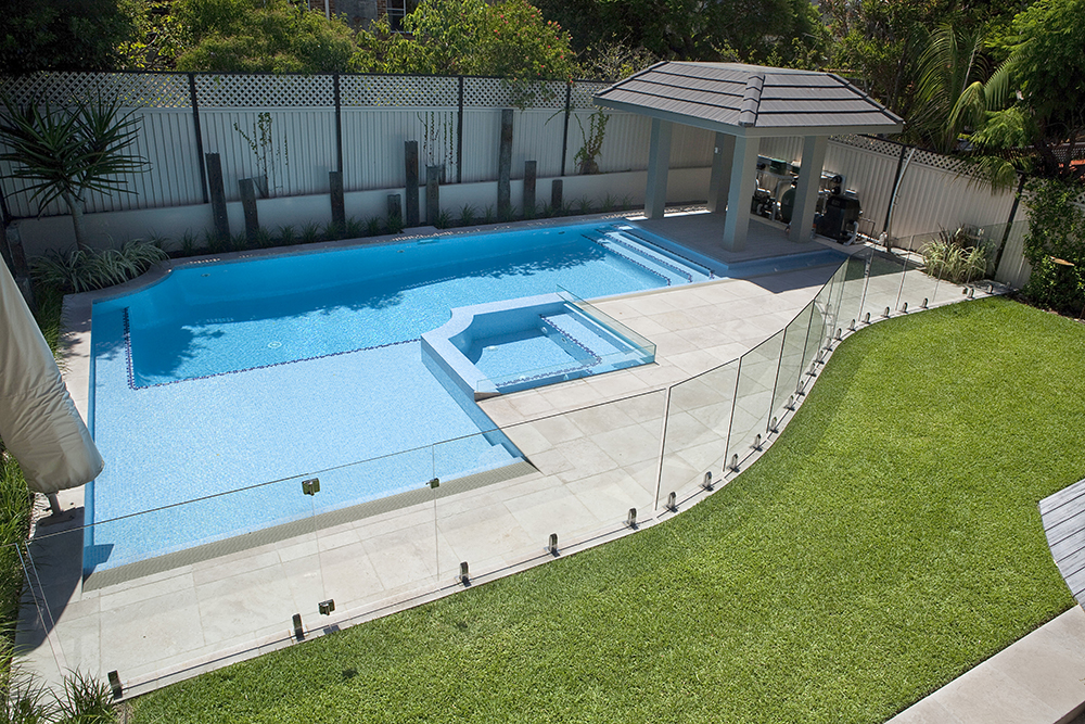 Types of pool fencing pool buyer 39 s guide crystal pools for Swimming pool fence requirements nsw
