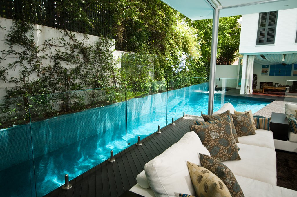 Swimming pool placement