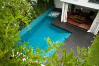 Winter pool maintenance