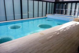 Air Apartments residents swimming pool