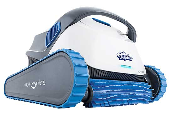 Dolphin S-Series S300i + SWV Robotic Pool Cleaner