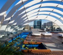Arc by Crown rooftop water feature