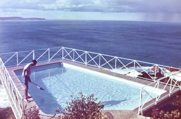 1960s cliff hanger at Palm Beach