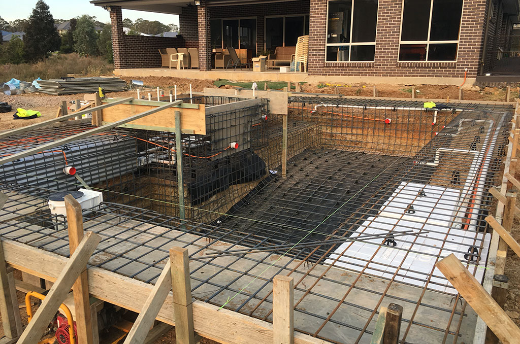 Pool construction process | Pool buyer's Guide | Crystal Pools