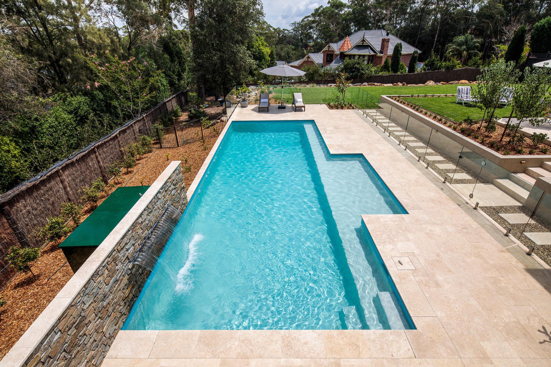Family Sized Lap Pool Glenhaven
